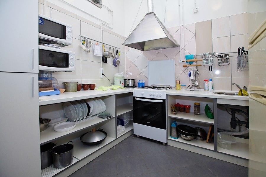 Как обустроить кухню в кафе фото